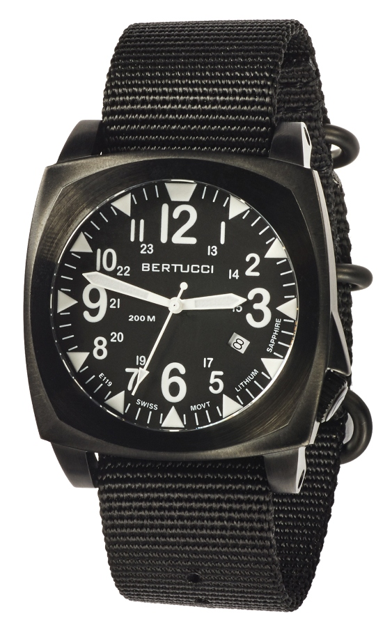 Bertucci Ballista Field watch - black